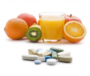 fruit and supplements